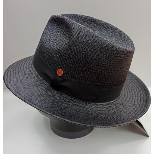 Sombrero panamá Mayser negro [2]