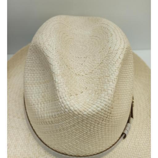 Sombrero panamá beigs [2]