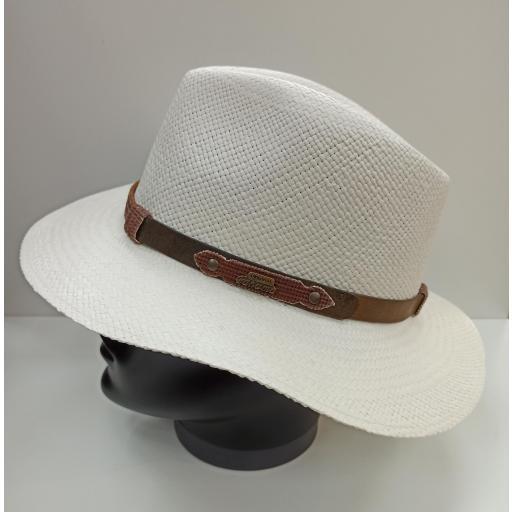 Sombrero panamá indiana
