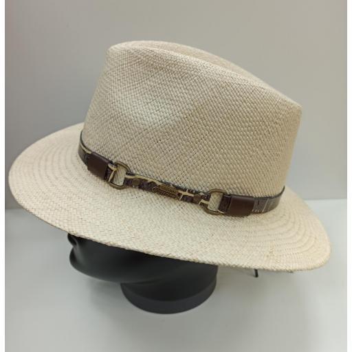 Sombrero panamá Amarillo
