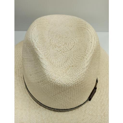 Sombrero panamá Amarillo [2]
