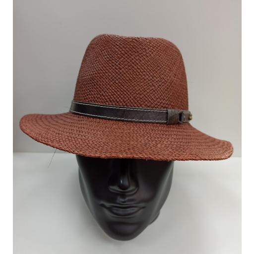 Sombrero panamá Marrón [1]