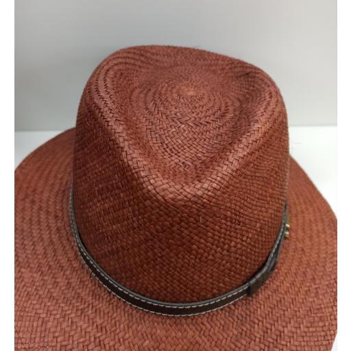Sombrero panamá Marrón [2]