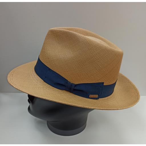 Sombrero panamá tabaco