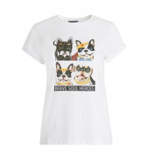 Camiseta mujer doghero