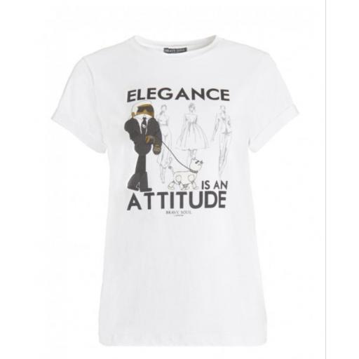 Camiseta mujer elegance