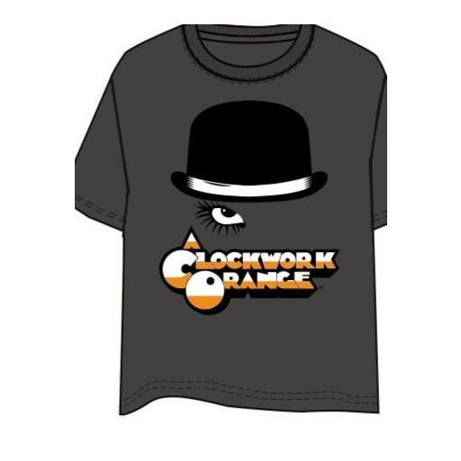 Camiseta naranja mecánica ojo [0]
