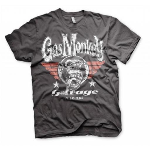 Camiseta Gas Monkey fly