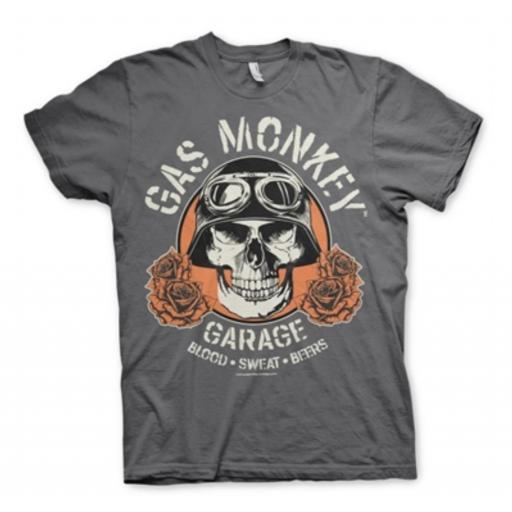 Camiseta Gas Monkey raider