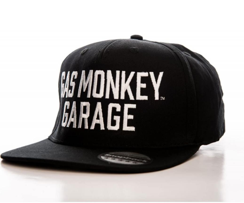 Gorra Gas Monkey letras