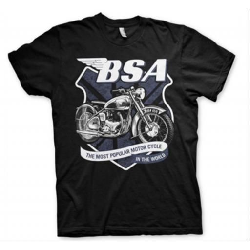 Camiseta B.S.A Motorcycle