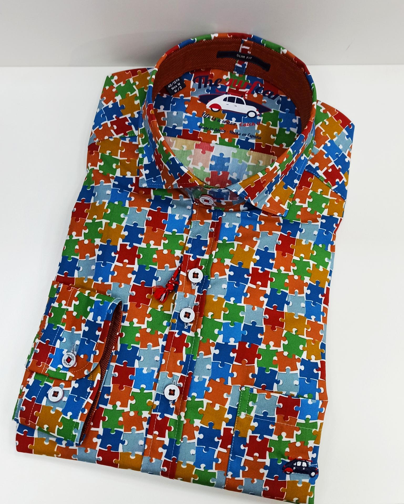 Camisa puzzle
