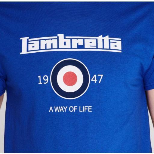 Camiseta Lambretta logo [2]