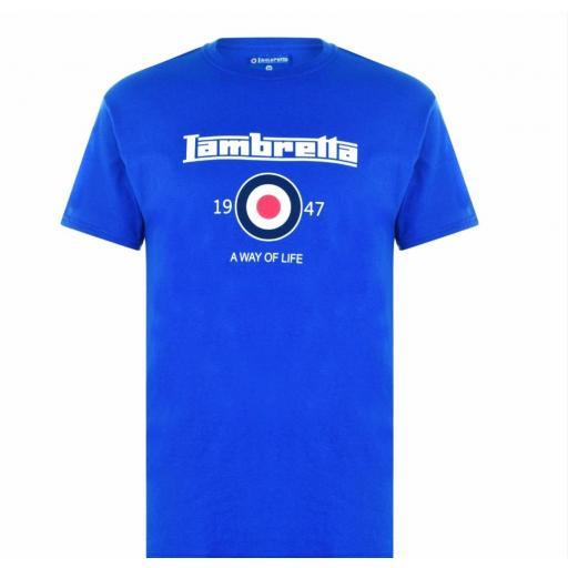 Camiseta Lambretta logo