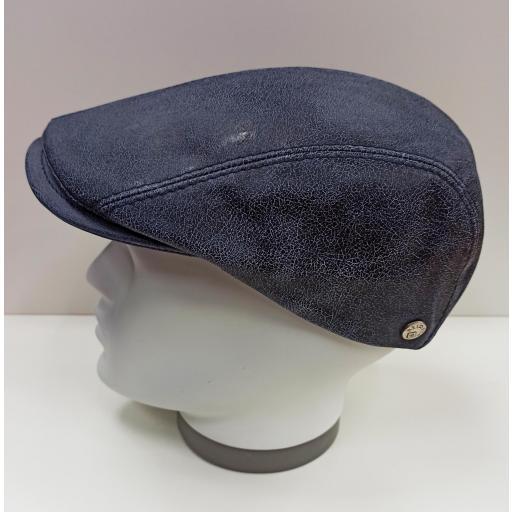 Gorra piel Daf blue leather [2]