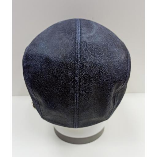 Gorra piel Daf blue leather [3]