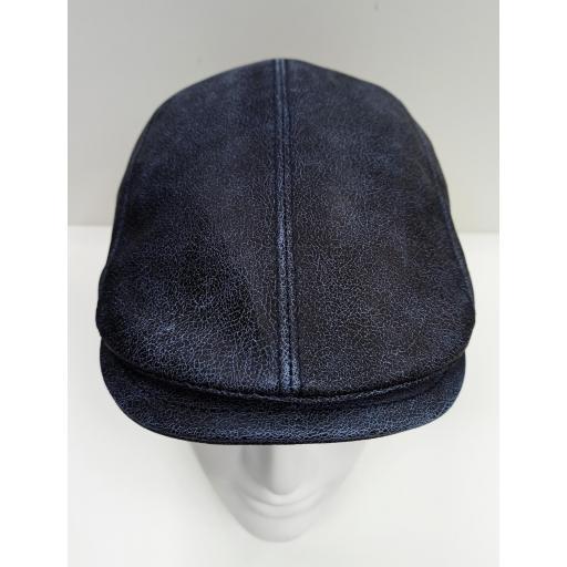 Gorra piel Daf blue leather [1]