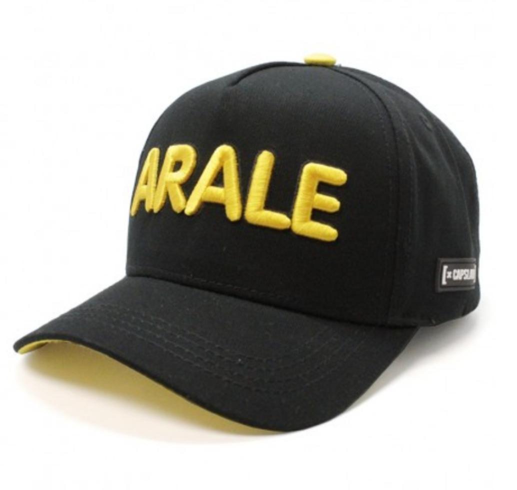 Gorra letras Arale