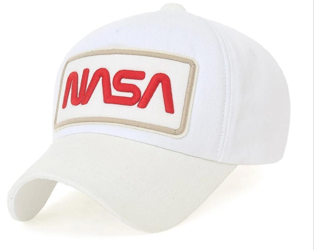 Gorra Nasa blanca