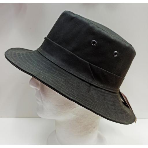 Sombrero encerado verde [3]
