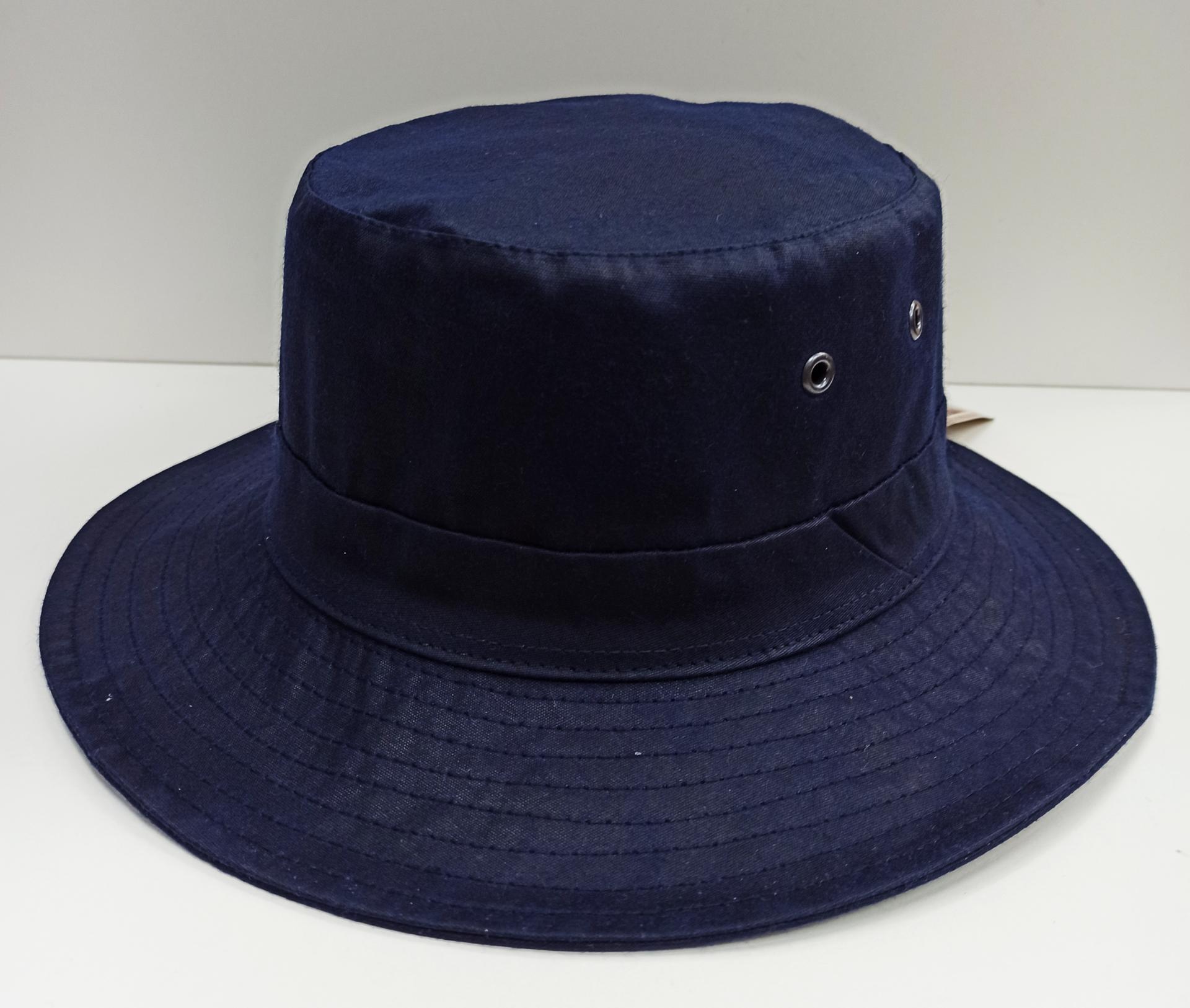 Sombrero encerado azul