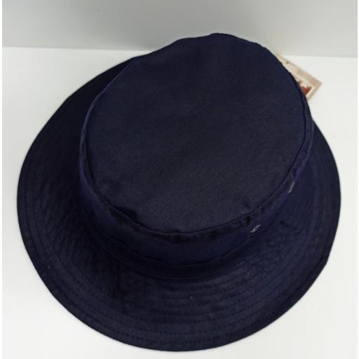 Sombrero encerado azul [1]