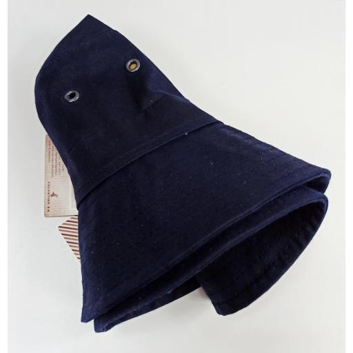 Sombrero encerado azul [2]