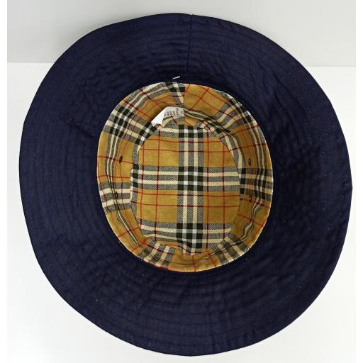Sombrero encerado azul [3]
