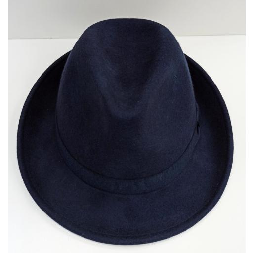 Sombrero Trilby azul [2]