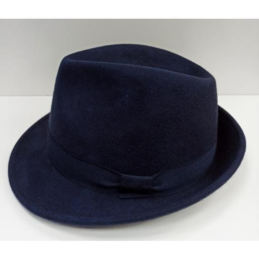 Sombrero Trilby azul [1]
