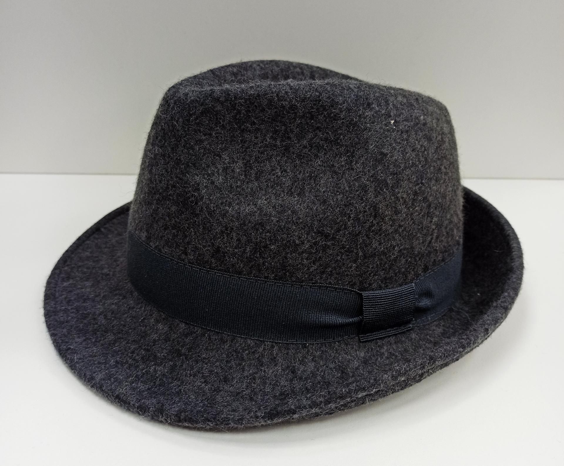 Sombrero Trilby gris