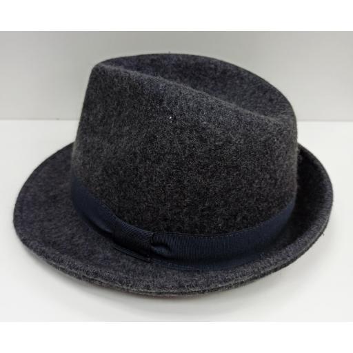 Sombrero Trilby gris [1]
