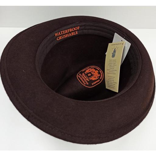 Sombrero Trilby marrón [3]