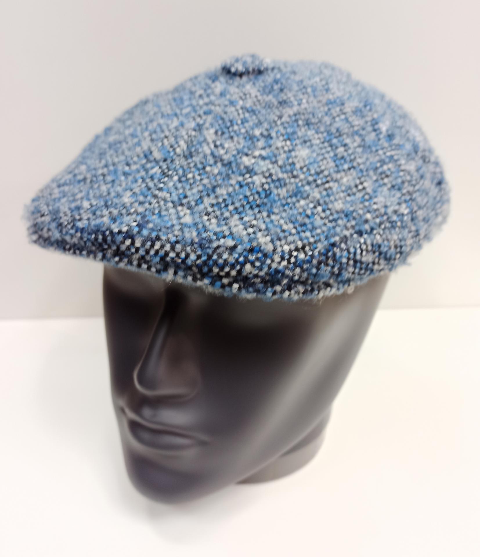 Gorra italiana azul