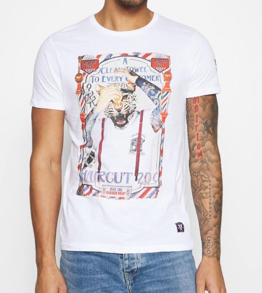 Camiseta barber tiger
