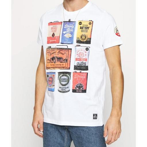 Camiseta latas