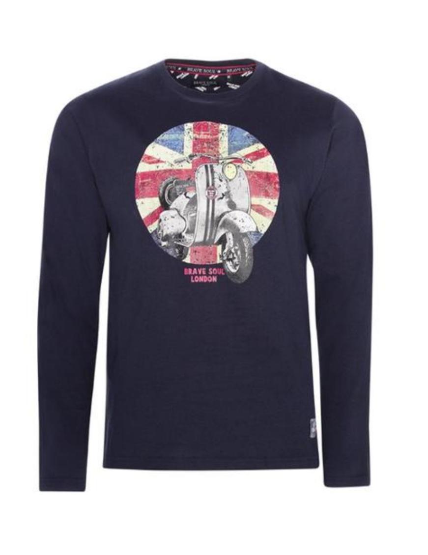 Camiseta britis scooter