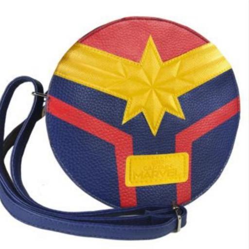 Bolso bandolera Capitana Marvel