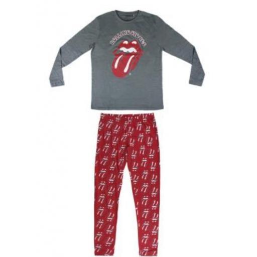 Pijama Rolling Gris