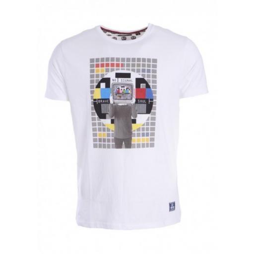 Camiseta retro tv
