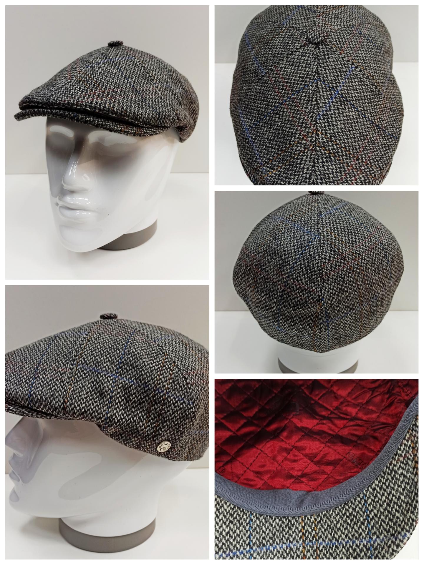 Gorra Oxford gris