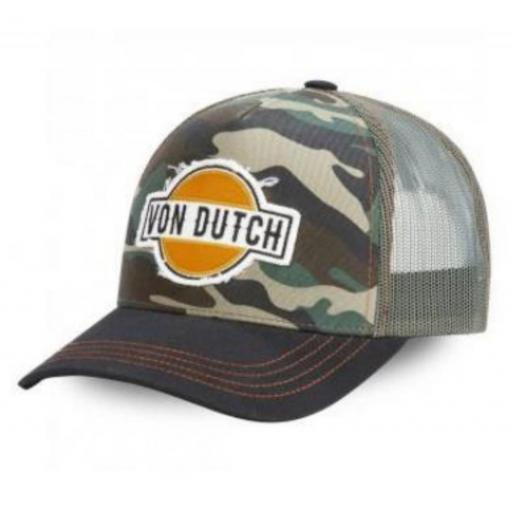 Gorra camo patch
