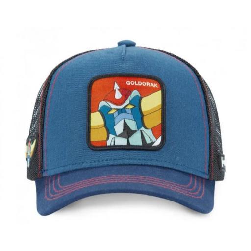 Gorra Goldorak blu