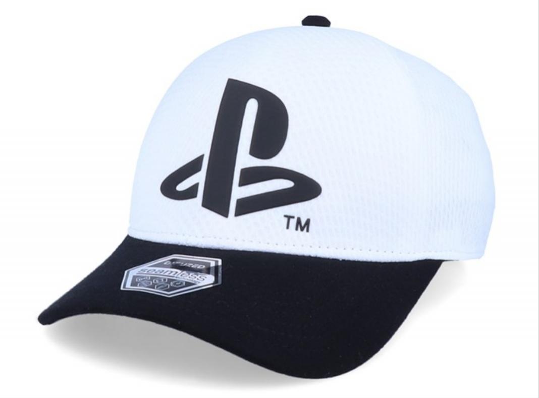 Gorra logo Psx blanca