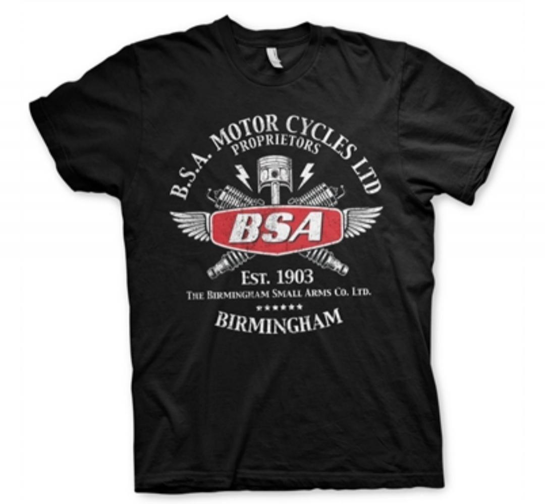 Camiseta BSA Sparks