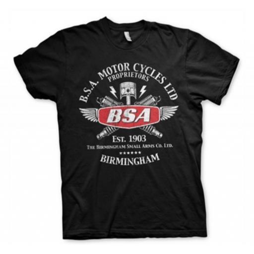 Camiseta BSA Sparks [0]