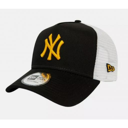 Gorra Yankees trucker essential negra [0]