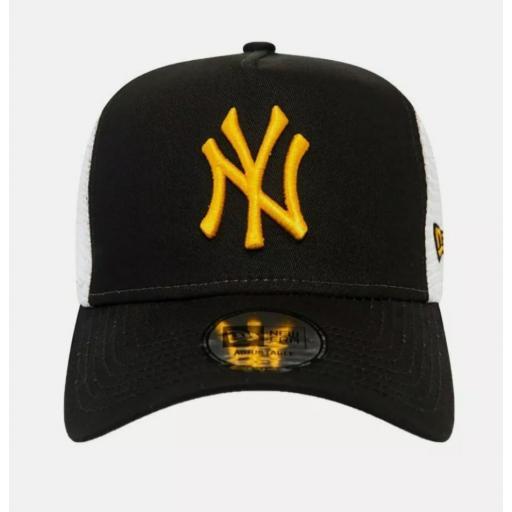 Gorra Yankees trucker essential negra [1]