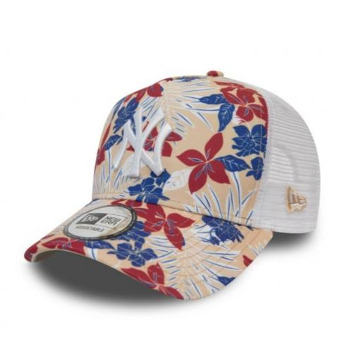 Gorra Yankees flower