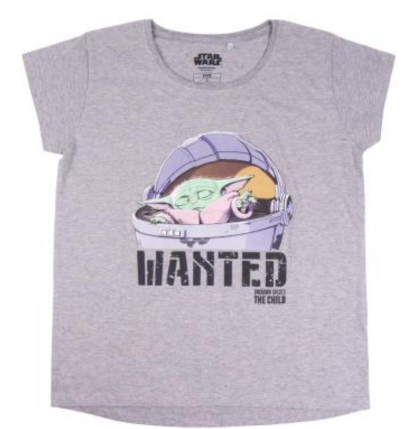 Camiseta Wanted Baby Yoda